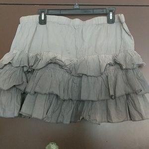 Club Monaco tie dye skirt